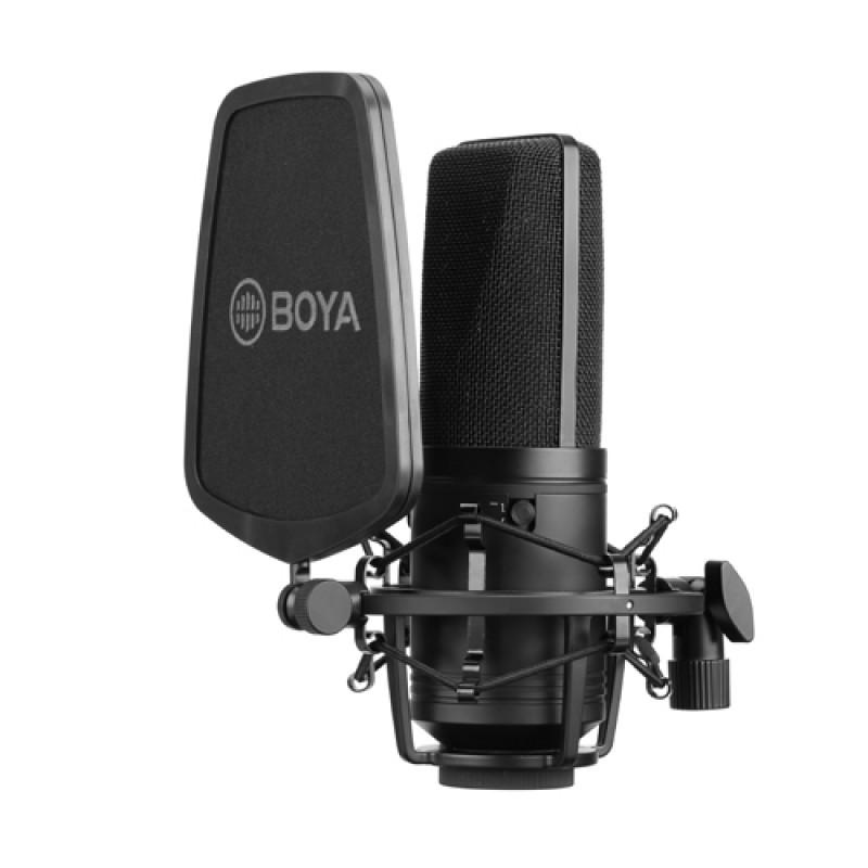 BOYA BY-M1000 Studio Large Diaphragm Condenser Microphone