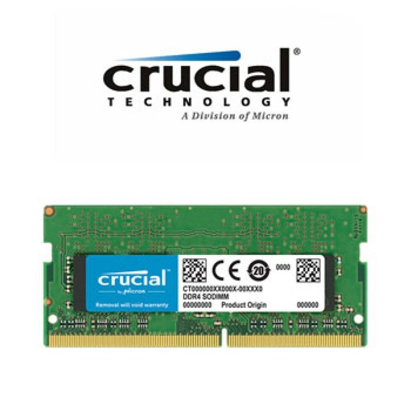 CRUCIAL 8GB DDR4 2666MHZ SO DIMM CT8G4SFS8266