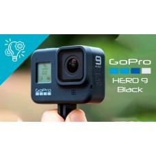 GoPro HERO9 Black全方位運動攝影機