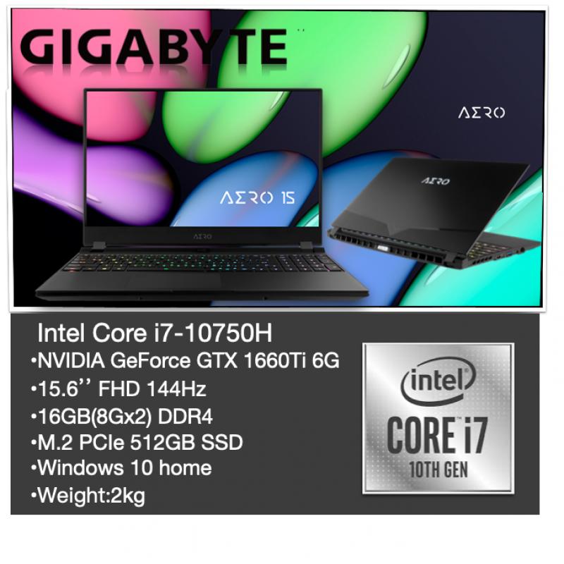 AERO 15 (Intel 10th Gen) | Laptop - GIGABYTE