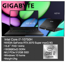 AERO 15 (INTEL 10TH GEN) | LAPTOP - GIGABYTE XB