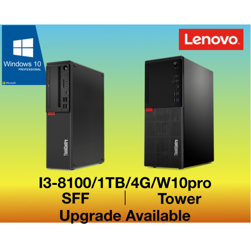 Lenovo ThinkCentre M720 i3-Pro