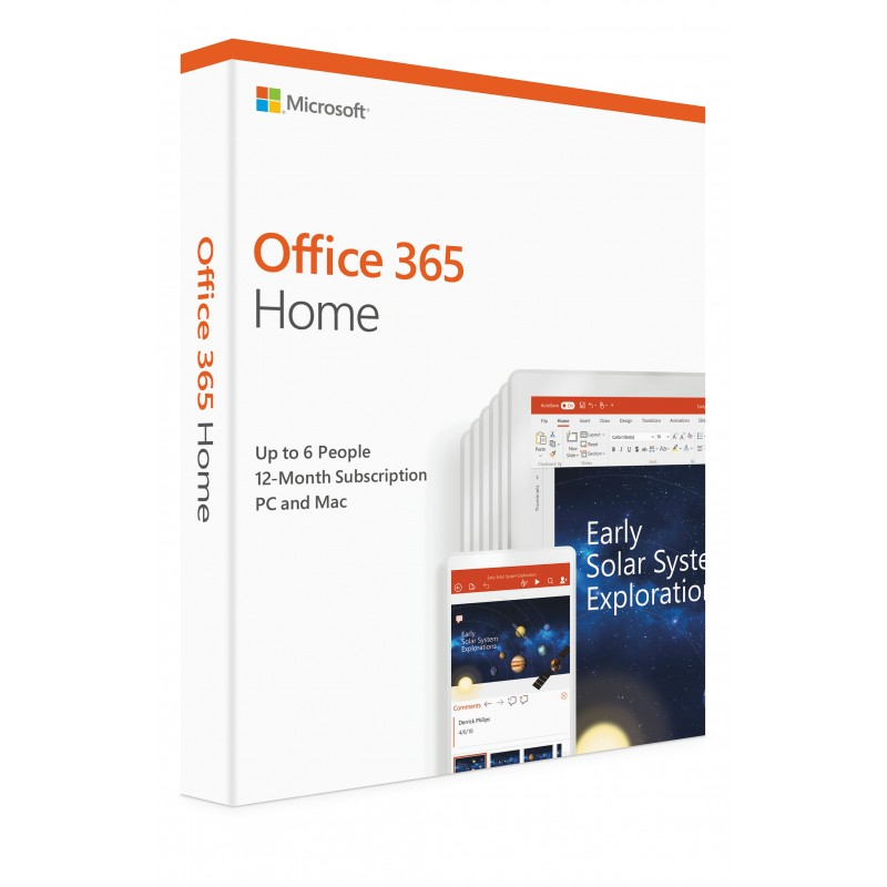 Microsoft OFFICE 365 - 6 USERS